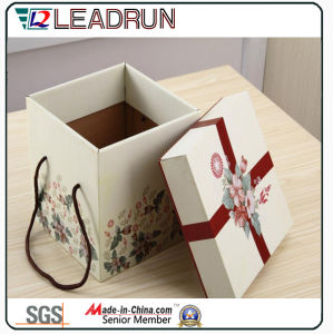 Candy Tin Gift Packaging Metal Chocolate Gift Tin Box Paper Gift Box Acrylic Wedding Candy Box (YSC22B) pictures & photos