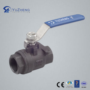 2PC Carbon Steel Ball Valve in A216 Wcb pictures & photos