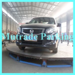 1 Rank Mutrade Parking Car Turn Table Turntable for Carport and Auto Show and Garage and Workshop pictures & photos