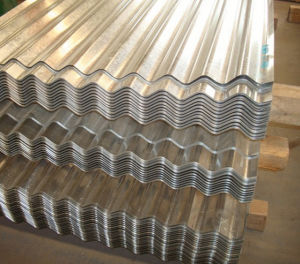 Thickness 0.15-0.5mm Corrugated Steel Sheet pictures & photos