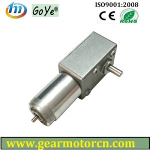 82mm Base High Torque Low Speed DC Worm Gear Motor 6V-24VDC