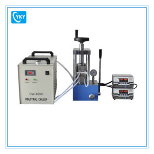 Laboratory Hydraulic Manual Hot Press (25T) for Granule pictures & photos
