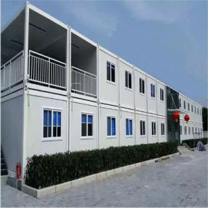 Low Cost Container House for Office and Accommodations and Ablutions pictures & photos