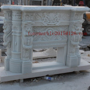 White Marble Fireplace for Indoor Decoration (SY-MF001) pictures & photos
