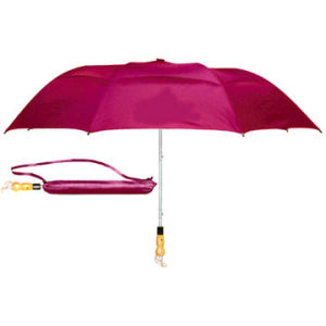 2 Fold Double Panels Windproof Golf Umbrella (BR-FU-148) pictures & photos