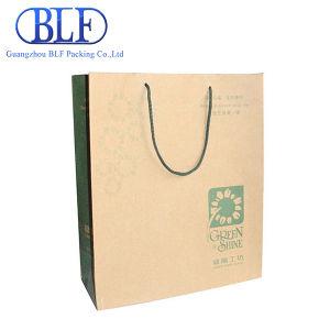 Printed Brown Kraft Paper Bag (BLF-PB095) pictures & photos