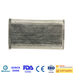 Mass Production Active Carbon Filter Face Mask pictures & photos