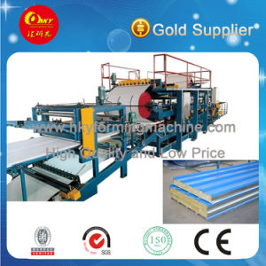 EPS and Wool Sandwich Roll Forming Machine pictures & photos