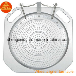 Wheel Alignment Wheel Aligner Rotary Rotating Plate Mechanical Turnplate Turntable for Wheel Alignment Wheel Aligner (JT007) pictures & photos