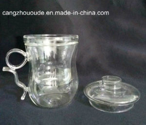 Height quality with Cover Glass Cup Glass Tea Cup pictures & photos