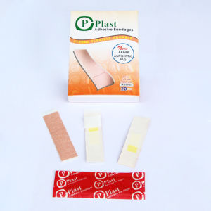 First Aid Bandage, Wound Plaster Fabric Bandage pictures & photos