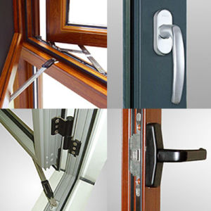 Feelingtop 1.4mm Aluminum Alloy Casement High Anti-Theft Window (FT-W108) pictures & photos