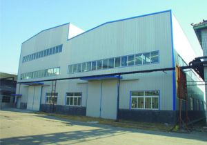 Gold Mining Steel Structure Workshop with Glass Curtain pictures & photos