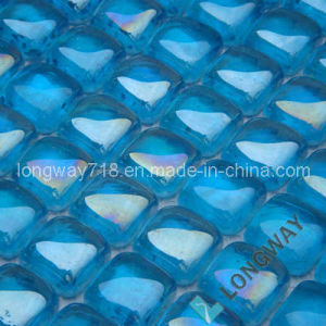 Metallic Glass Tiles (Sea Blue)