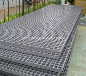FRP/GRP Grid for Floor, Stair Steps, Platform, Trench, Walkways pictures & photos