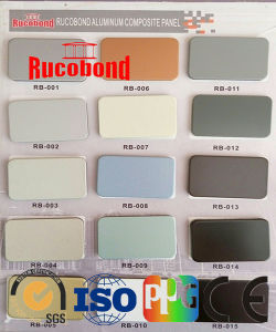PE PVDF Coating Cladding Material Building Material Aluminum Composite Panel Acm ACP pictures & photos