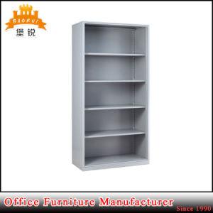 Modern Library Furniture Steel Book Shelf Rack Cabinet Magazine Bookshelves pictures & photos