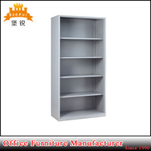Modern Library Furniture Steel Bookcase Rack Cabinet Magazine Bookshelf pictures & photos