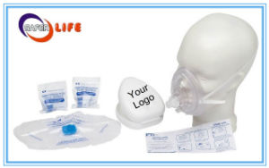 First Aid Barrier Cuffed CPR Mask Manikin Face Shield CPR Practi-Shield Breath Barrier pictures & photos
