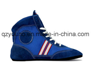 Combat Battle Fight Men′s Martial Arts Russian Wrestling Sambo Shoes pictures & photos