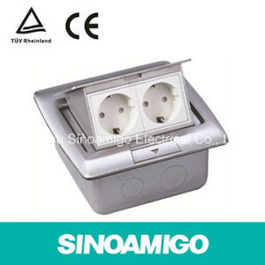 Stainless Steel Cbd Low Voltage Wiring System Electrical Floor Wiring Junction Box Outlet Socket pictures & photos