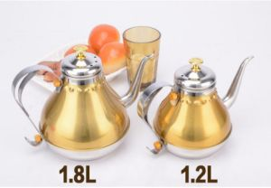 1200ml Stainless Steel Palace Kettle Water Kettle (CS-028) pictures & photos