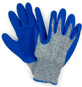 Hppe Fiber Anti Cut Gloves Latex Palm Coating Mechanix Work Glove pictures & photos