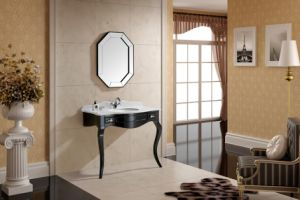 Glossy Black New Classical Cabinet pictures & photos