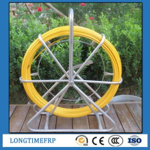 Yellow Fiberglass Duct Rodder for Pulling Cable (11mm 12mm 13mm 14mm) pictures & photos