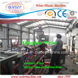 PE Spiral Wrapping Band Production Line for Protective Sheath pictures & photos