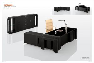 HY-54-Leather Furnishing Office Desk