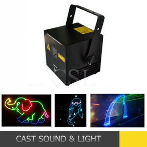 2W RGB Full Color Animation Cheap Laser Lights pictures & photos