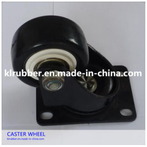 """3""""-6"""" PU Caster Wheel with Roller Bearing pictures & photos"""