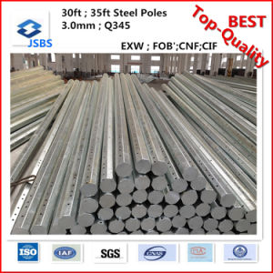 Philippines Nea Octagonal Electrical Steel Pole pictures & photos