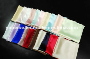 100% Pure Silk Pocket Square Handmade Handkerchief Custom Design Logo pictures & photos