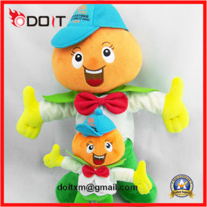 Bank Promotion Gift Boy Plush Doll Custom Plush Doll pictures & photos