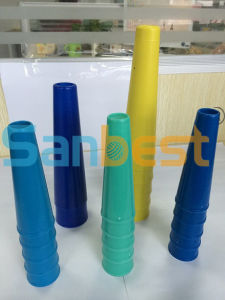 Regular 6 Inch Plastic Cones for Sewing Thread pictures & photos