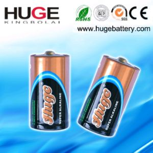 1.5V Metal Jacket D Size Super Alkaline Battery (LR20) pictures & photos
