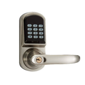 Zinc Alloy Plated Control Bluetooth Smart Door Lock Password Electronic Lock pictures & photos