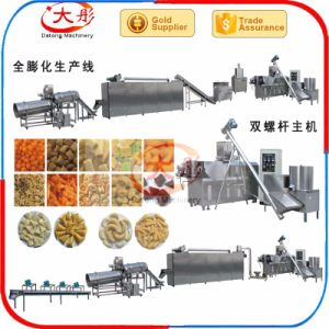 Jinan Twin Screw Extruder Snack Food Machine pictures & photos
