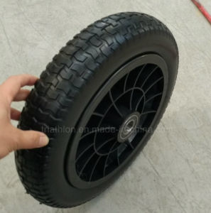 4.00-8 4.00-10 6.50-8 Turf Flat Free PU Foam Tire pictures & photos