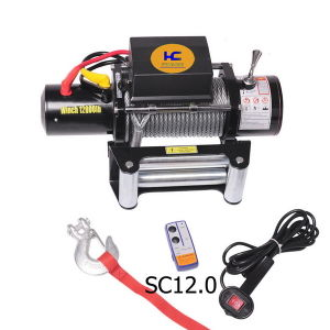 12V Power Winch 12000lb pictures & photos