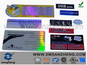 Hologram Adhesive Label Sticker (SZXY071) pictures & photos