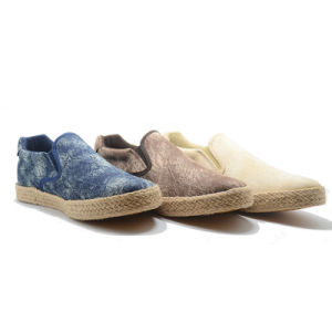 New Popular Knit Special Instep Casual Men Adult Espadrilles Shoes pictures & photos