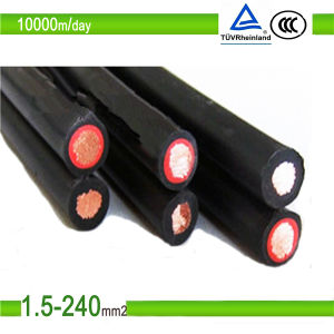TUV Certification Tinned Copper Wire Solar PV Cable pictures & photos