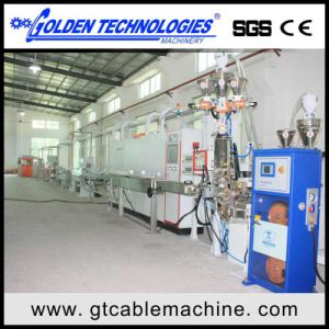 Automotive Cable Sheathing Extrusion Line pictures & photos