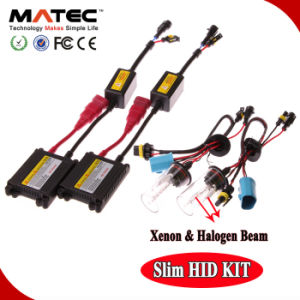 HID Headlight, AC DC Xenon Kit Slim 12V HID Xenon Ballast 35W 55W 75W H1 H4 H7 H11 H13 9004 9005 880 H16 HID Xenon pictures & photos