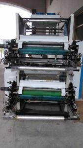 PE Film Double-Color Flexographic Letterpress Printing Machine pictures & photos