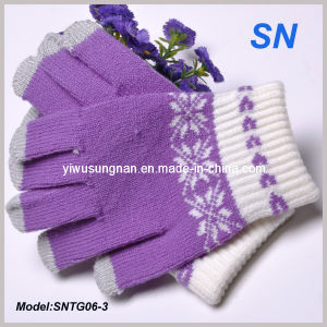 2015 Fashion Itap Gloves for Women (SNTG06-3) pictures & photos