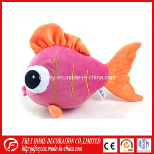 Cute Plush Pink Fish Toy for Baby Promotion pictures & photos